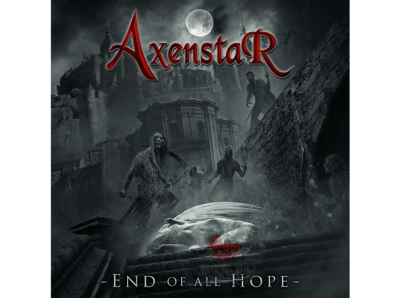 Axenstar - End Of All Hope (Lim.180 Gr.Clear Red Vinyl) [Vinyl]