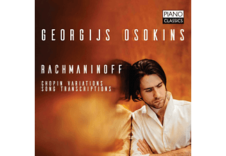 Georgijs Osokins - Rachmaninoff: Chopin Variations Song Transcriptions CD