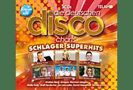 VARIOUS - Die deutschen Disco Charts-Schlager Superhits [CD]