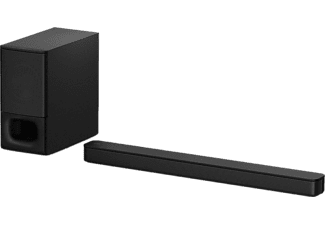 Sony HT-S350 Soundbar Zwart Bluetooth, Incl. draadloze subwoofer, Wandbevestiging