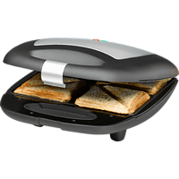 ROMMELSBACHER ST 1410 Sandwichmaker Edelstahl/Schwarz