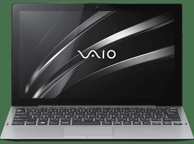 VAIO A12, Convertible mit 12.5 Zoll Display, Core™ i7 Prozessor, 16 GB RAM, 512 GB SSD, Intel® UHD-Grafik 615, Schwarz/Silber