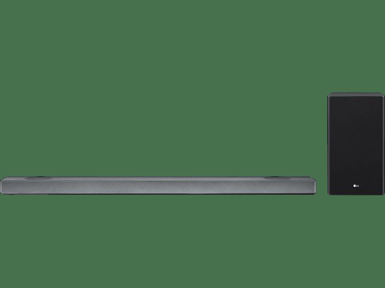 LG SL9YG Soundbar, Soundbar, Schwarz