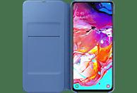 SAMSUNG Flip Cover , Bookcover, Samsung, Galaxy A70, Kunststoff, Schwarz