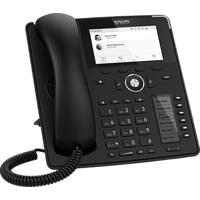 SNOM snom D785 SIP-Telefon, Schwarz