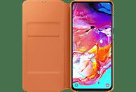 SAMSUNG Flip Cover , Bookcover, Samsung, Galaxy A70, Kunststoff, Weiß