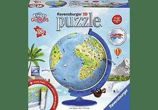 RAVENSBURGER Kinderglobus in deutscher Sprache 3D Puzzle Mehrfarbig