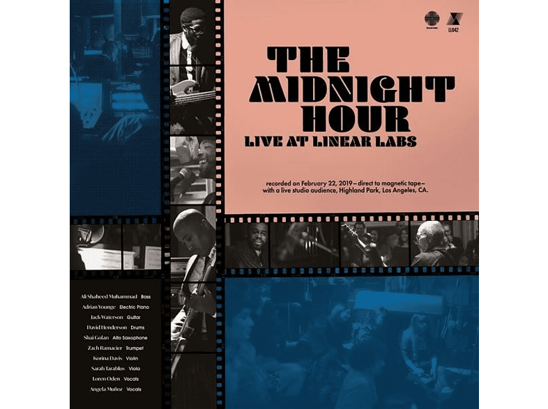 Adrian Younge, Ali Shaheed Muhhamad - The Midnight Hour Live at Linear Labs [CD]