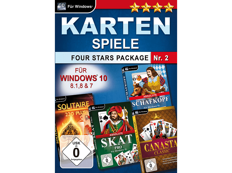 Kartenspiele Four Stars Package Nr. 2 [PC]