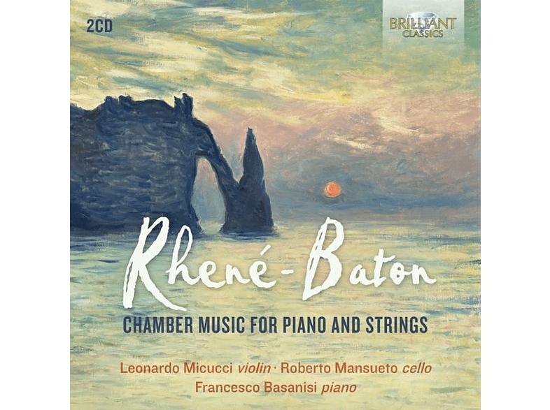 Wolferl Trio - Rhene-Baton:Chamber Music For Piano And Strings [CD]
