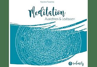 Nadine Burkatzki - Seelensitz Meditation Ausrichten & Loslassen Vol.2  - (CD)