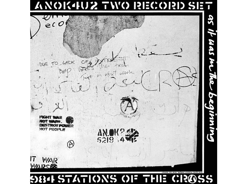 Crass - Stations Of The Crass (2LP) [Vinyl]