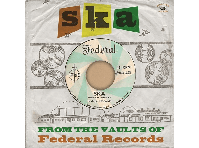 * - SKA-From The Vaults Of Federal Records [CD]