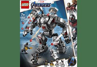 LEGO 76124 War Machine Buster Bausatz, Mehrfarbig