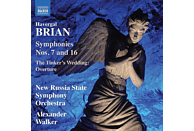 New Russia State Symphony Orchestra - Sinfonien 7 and 16 [CD]