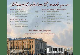 Zvi Meniker - Dussek:Complete Piano Sonatas Vol.7-op.47 & op.64  - (CD)