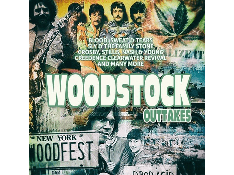 VARIOUS - Woodstock Outtakes [CD]