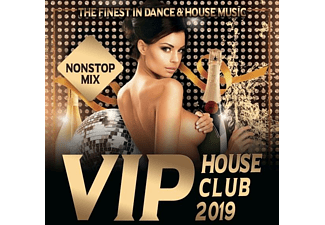 VARIOUS - VIP House Club 2019-The Finest In Dance & House  - (CD)