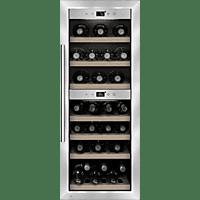 CASO WineComfort 38 Weinklimaschrank (143 kWh/Jahr, EEK A, Silber)