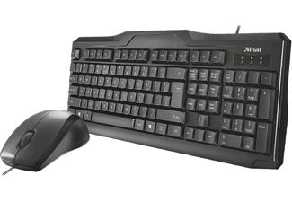 TRUST Classicline Wired Keyboard and Mouse 23008