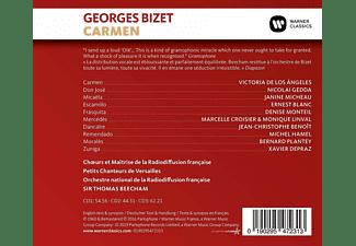 Sir Thomas Beecham, Nicolai Gedda, Ernest Blanc, Victoria De Los Angeles - Carmen  - (CD)