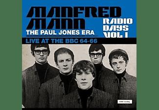 Manfred (with Paul Jones) Mann - Radio Days Vol.1 (Gatefold 180g Black 2LP)  - (Vinyl)