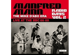 Manfred (with Mike D'abo) Mann - Radio Days Vol.2 (Gatefold 180g Black 3LP)  - (Vinyl)