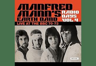 Manfred Mann's Earth Band - Radio Days Vol.4 (Gatefold 180g Black 3LP)  - (Vinyl)