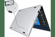 TREKSTOR Primebook C11B-CO, Convertible mit 11.6 Zoll Display, Celeron® Prozessor, 4 GB RAM, 32 GB Interner Speicher, Intel® HD-Grafik 500, Silber