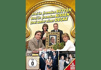 Drei in fremden Betten - Kissen - Decken DVD