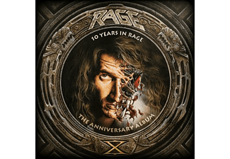 Rage - 10 Years In Rage  - (CD)