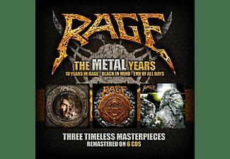 Rage - The Metal Years (6CD Box)  - (CD)