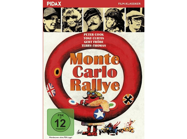 Monte Carlo Rallye [DVD]