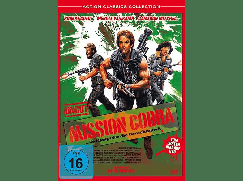 MISSION COBRA-...im Kampf für die Gerechtigkeit [DVD]