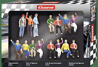 CARRERA (TOYS) Figurensatz Fans Carrera Zubehör, Mehrfarbig