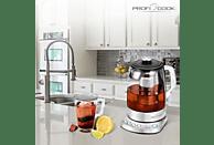 PROFI COOK PC-WKS 1167 Wasserkocher, Edelstahl