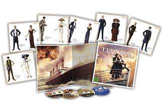 TITANIC Special Collector's Edition inkl. Soundtrack (4 Discs + Art Cards) Blu-ray + DVD