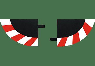 CARRERA (TOYS) Endstücke für Kurvenaußenrand (4), breit Carrera Zubehör, Mehrfarbig