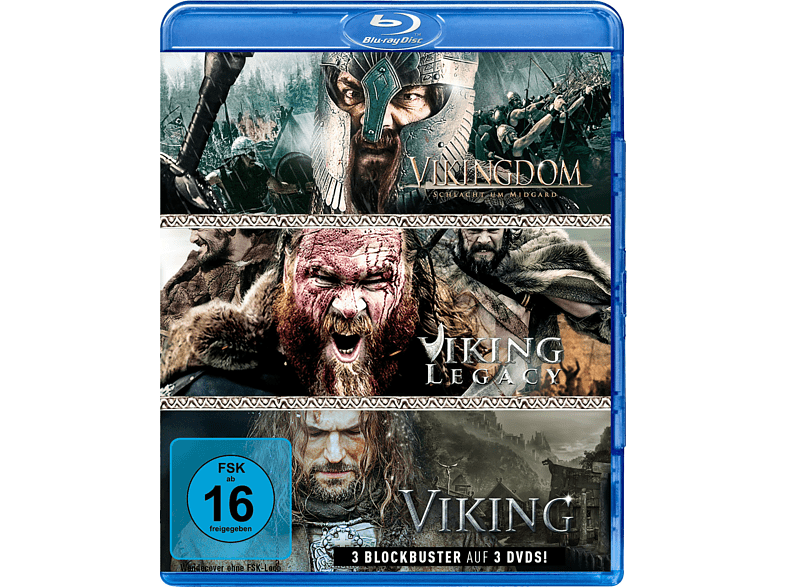 Wikinger-Box: Viking, Vikingdom & Viking Legacy [Blu-ray]