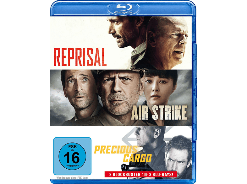 Bruce Willis Triple Feature [Blu-ray]