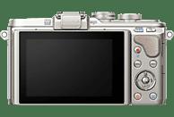 OLYMPUS PEN E-PL8 Systemkamera 16.1 Megapixel mit Objektiv 14-42 mm , 7.6 cm Display   Touchscreen, WLAN
