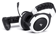 CORSAIR HS70 Wireless Gaming Headset Weiß
