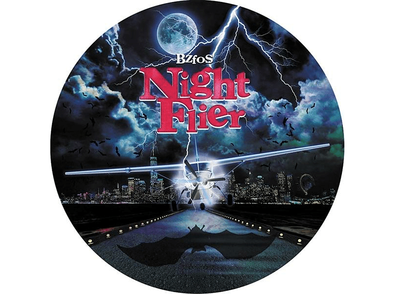 """Bloodsucking Zombies From Outer Space - Night Flier/Rainy Season (Lim.Ed.Pic.10"""") [Vinyl]"""