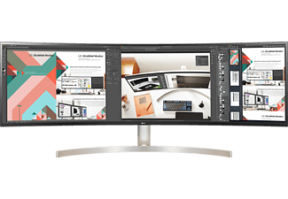 LG ELECTRONICS Monitor Curved UltraWide 49WL95C-W, 49 Zoll, QHD, 60Hz, 5ms, AH-IPS, 350cd, 10Bit, 99% sRGB, Weiß
