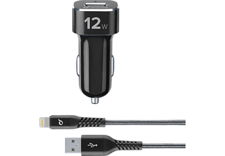 CELLULAR-LINE Car Charger Kit 12 Watt Light Tetra Force Zwart