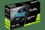 ASUS GeForce® GTX 1650 Dual 4GB (90YV0CV3-M0NA00) (NVIDIA, Grafikkarte)