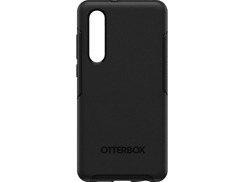 OTTERBOX Symmetry Backcover Huawei P30 Polycarbonat, Silikon Schwarz