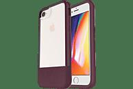 OTTERBOX Bundle Slim + Glas , Backcover, Apple, iPhone 7, iPhone 8, Echtleder, Weinrot