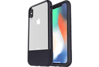 OTTERBOX Bundle Slim + Glas , Backcover, Apple, iPhone X, iPhone XS, Echtleder, Schwarz