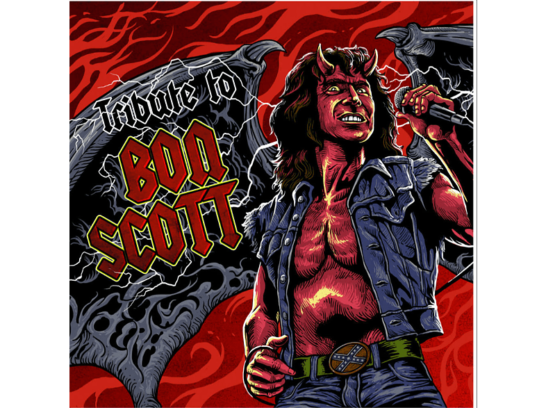 VARIOUS - A Tribute To Bon Scott (1 LP Rot) [Vinyl]